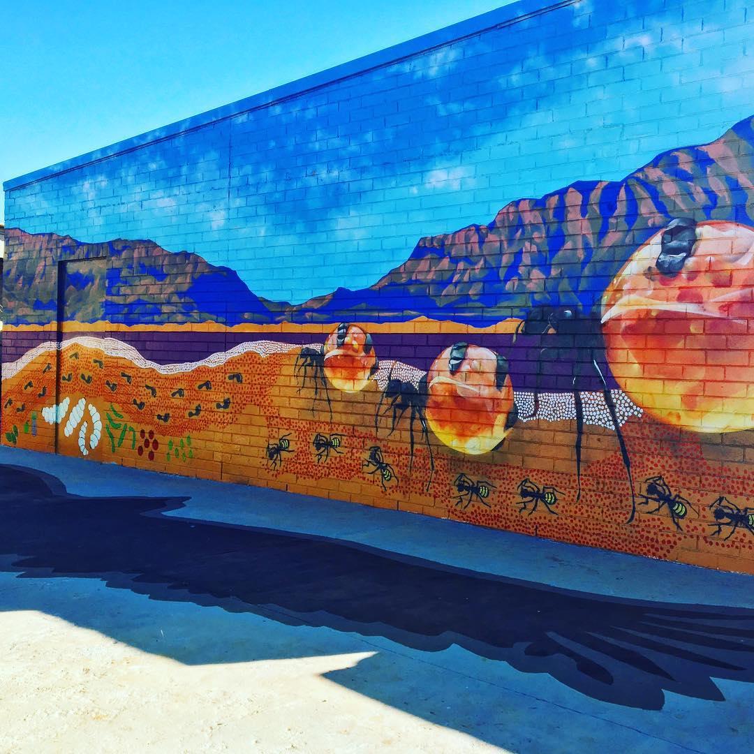 Andrew Bourke mural